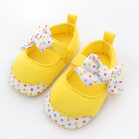 Cute Baby Girls Shoes Toddler Princess Baby Shoes Bowknot Firstwalker Infant Soft Bottom Cotton Prewalkers 0-24M LL8