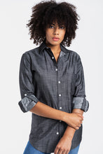 GIRLFRIEND SHIRT BLACK DENIM