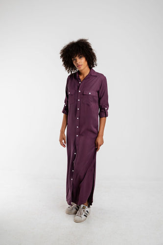GIRLFRIEND MAXI DRESS PURPLE