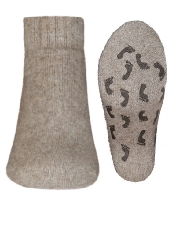 Comfort Socks Possum Slipper - Natural
