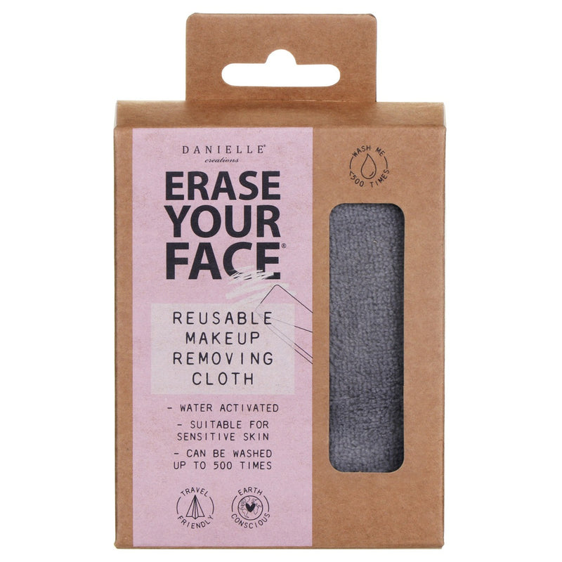 DC Erase Your Face Make Up Removers - Grey