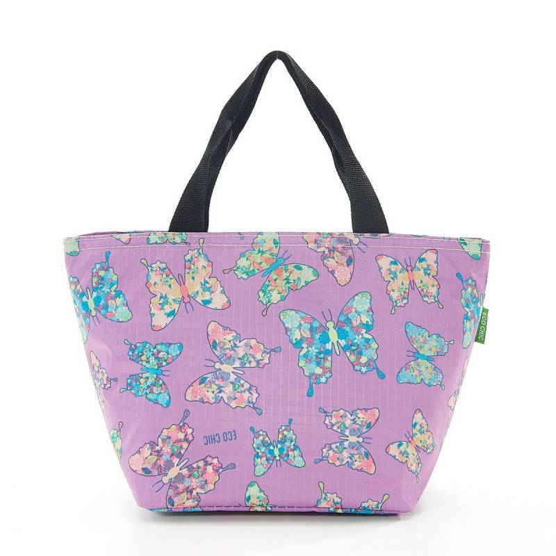 EC Lunch Cooler Bag - Lilac Butterfly