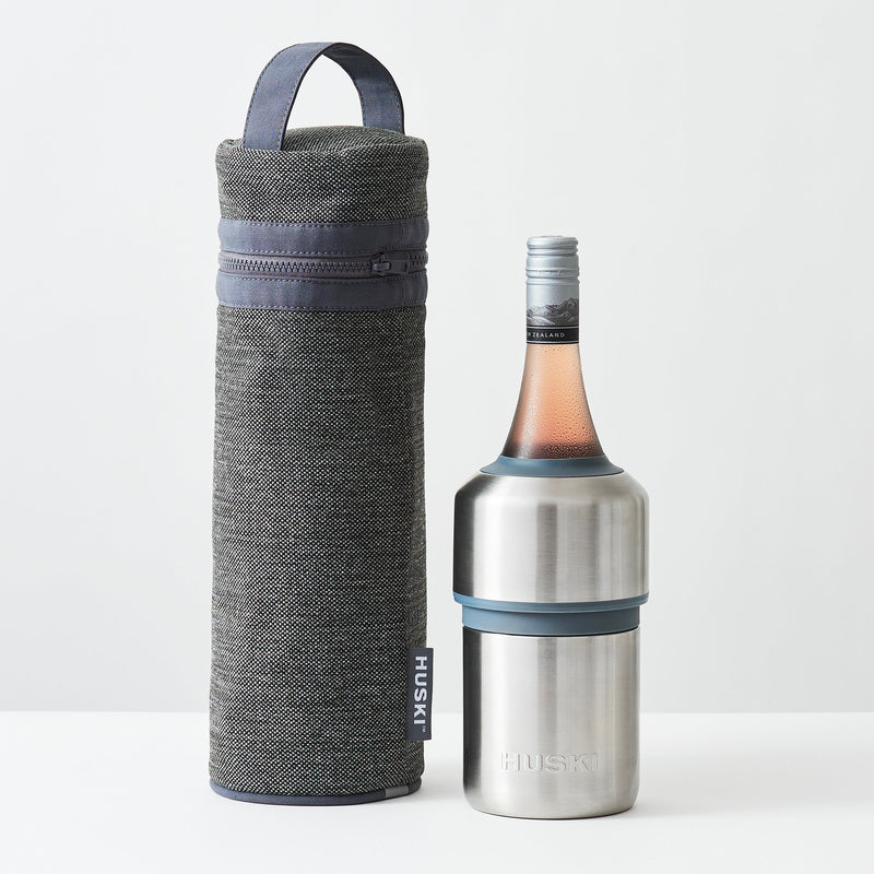 Huski Wine Cooler Tote - Black
