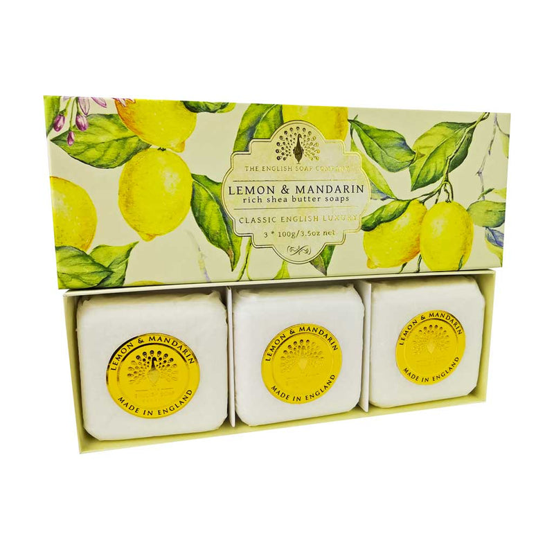 ESC Luxury Soap Gift Box - Lemon & Mandarin