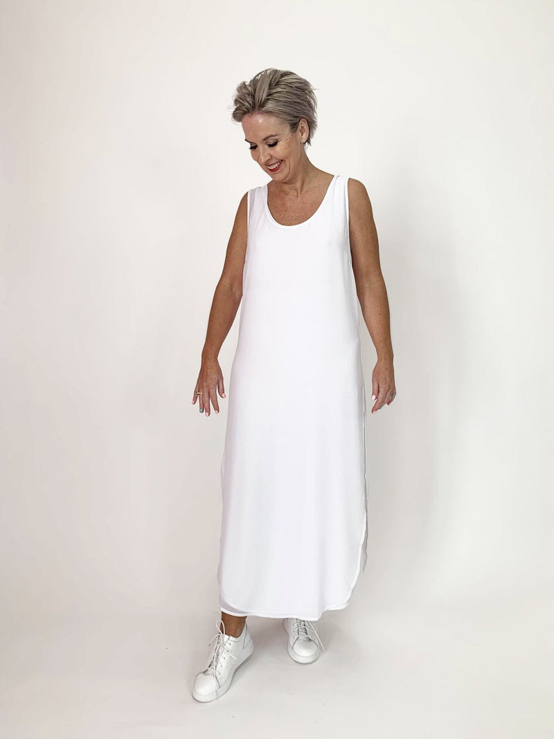 Minx C.Reed Sly Slip Knit - White