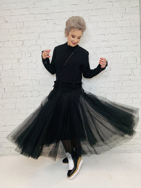 Minx C.Reed Swan Lake Tulle Tutu - Black