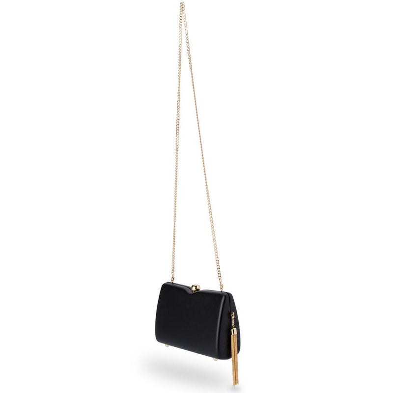 OB Cassie Tassel Shoulder Bag - Black
