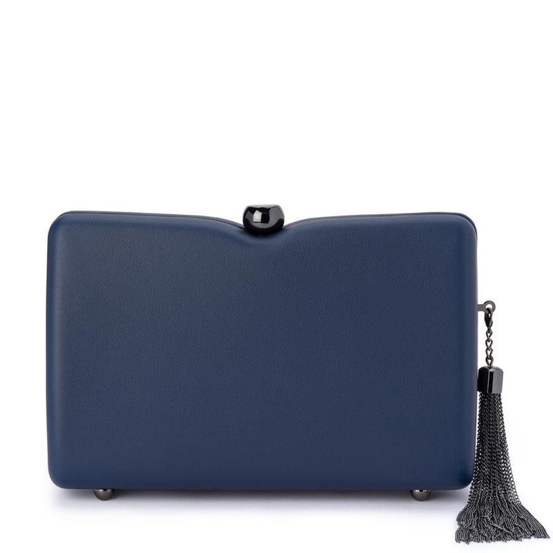 OB Cassie Tassel Shoulder Bag - Navy