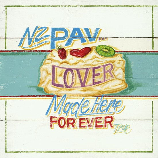 PD Lunch Napkin NZ - Pav Lover