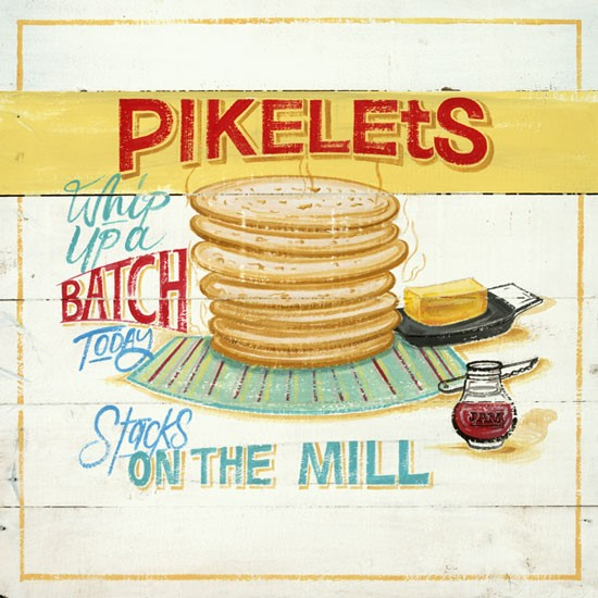 PD Lunch Napkin NZ - Pikelets