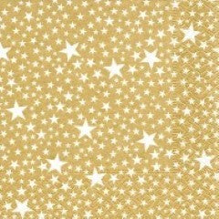 PD Lunch Napkin - Starlets Gold