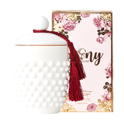 MOR Peony Blossom Deluxe Soy Candle 266gm