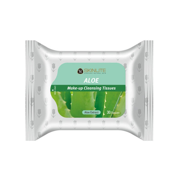 Skin Lite Make-Up Cleansing Tissues - Aloe