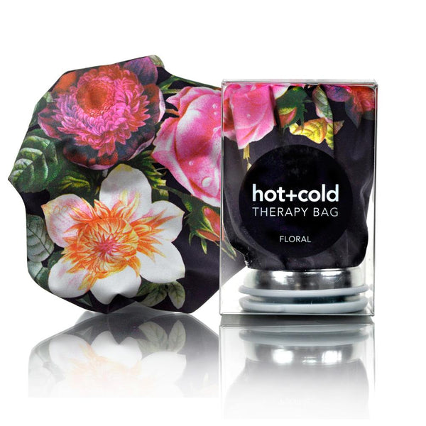Hot + Cold Therapy Bag - Floral