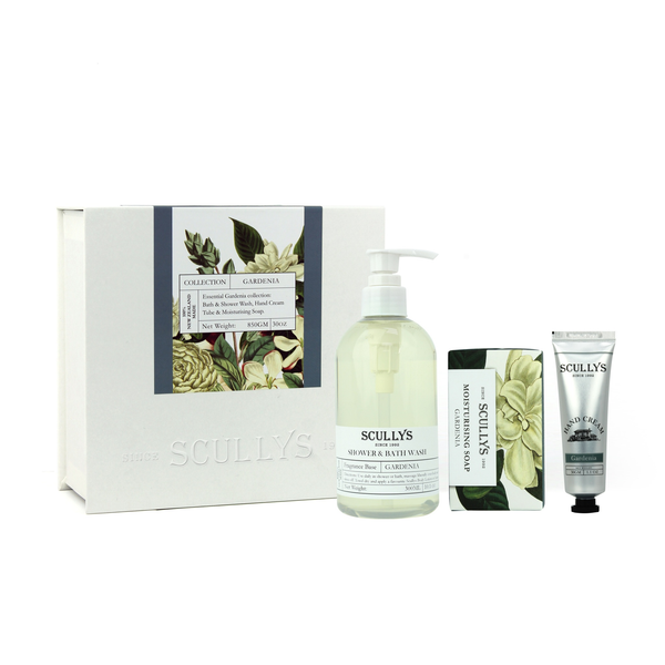 Scully's White Gift Box - Gardenia