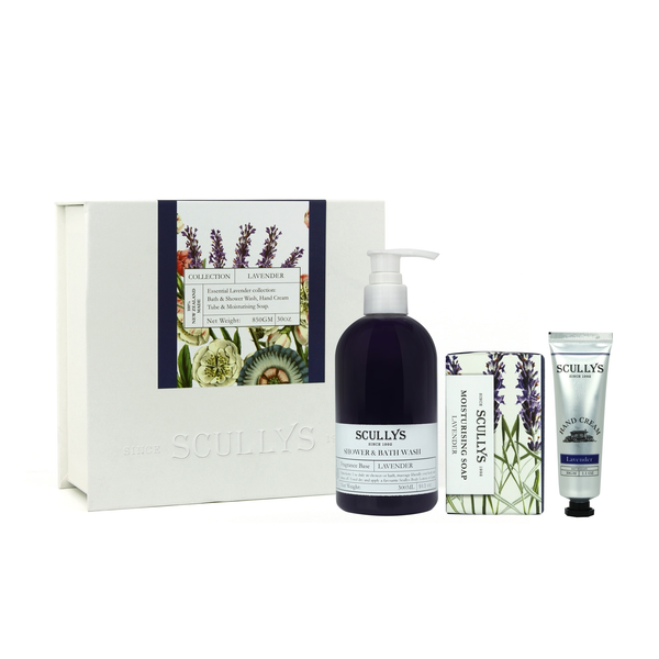 Scully's White Gift Box - Lavender