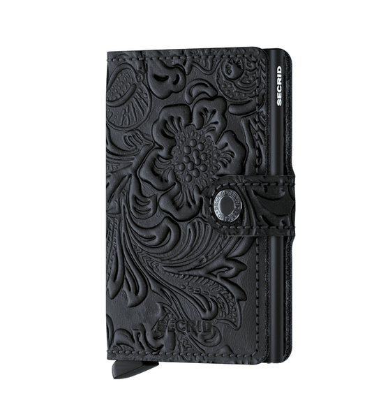 Secrid Miniwallet - Ornament Black