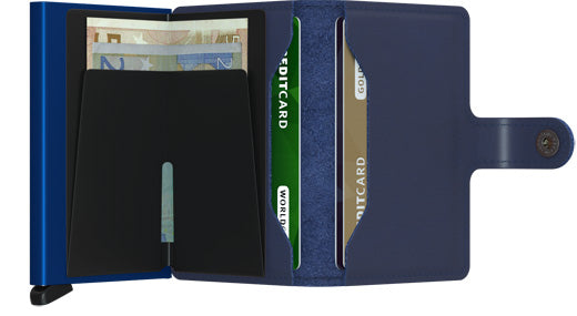Secrid Miniwallet - Original Navy Blue + Blue