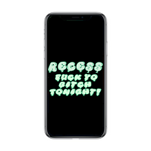 Load image into Gallery viewer, Black RFYBT Phone Wallpaper(Digital Download)