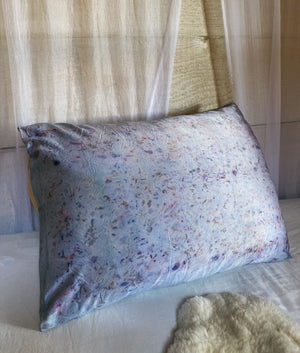Naturally Dyed Silk Pillowcase