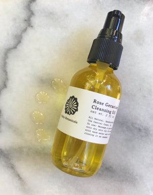 Rose Geranium Cleansing Oil