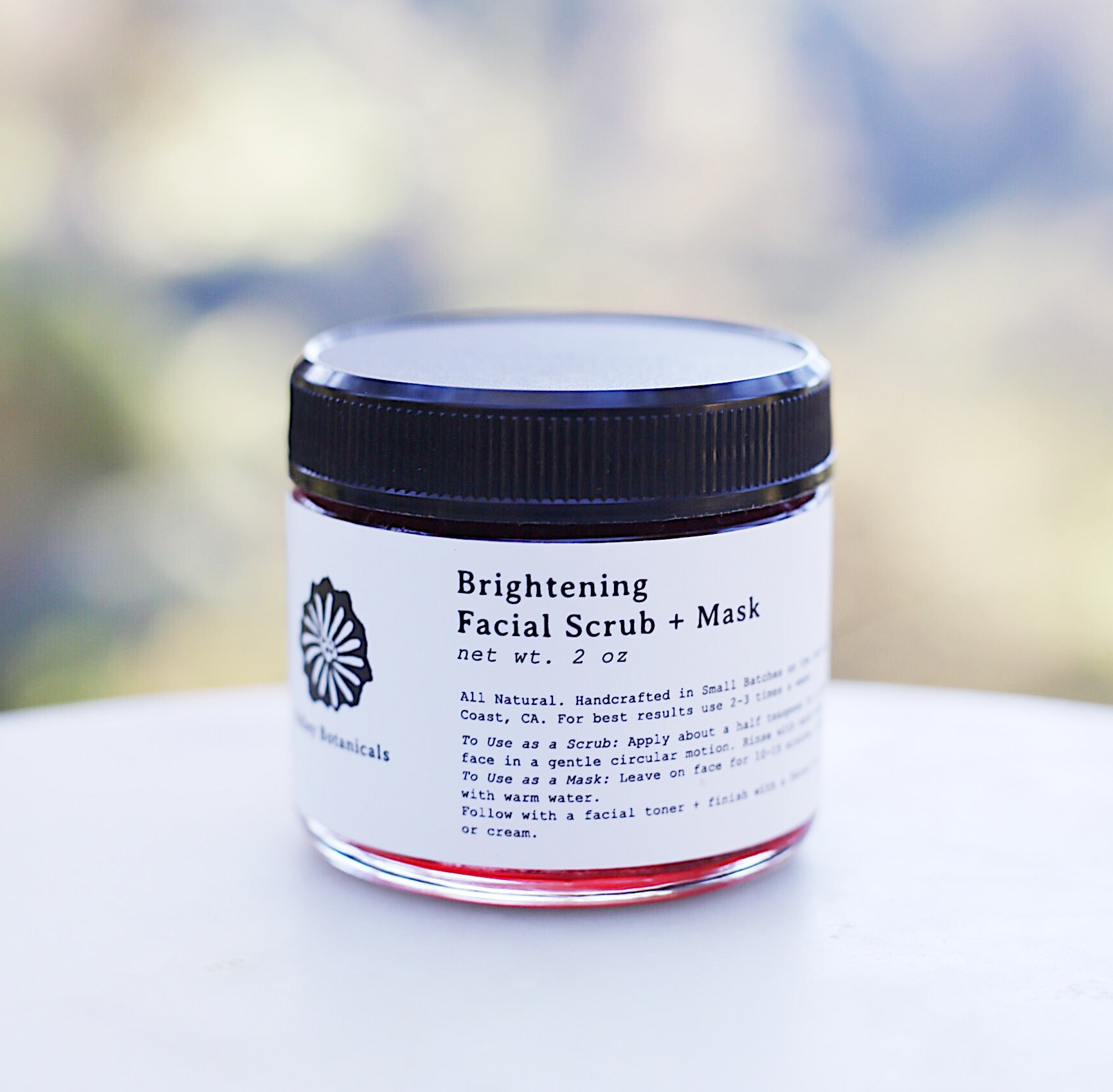 Brightening Facial Scrub + Mask
