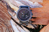 "Awoken Vibes ""Gun Metal Grey"" Wooden Watch"
