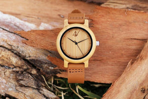 Awoken Vibes Women's Leather Band Watch