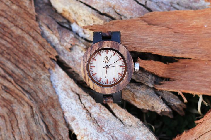 "Awoken Vibes ""Just Elegance"" Women's Wooden Watch"