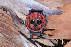 "Awoken Vibes ""The Main Classic"" Wooden Watch"