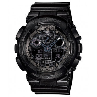 Casio G-Shock Analogue/Digital Camo Grey/Black Watch