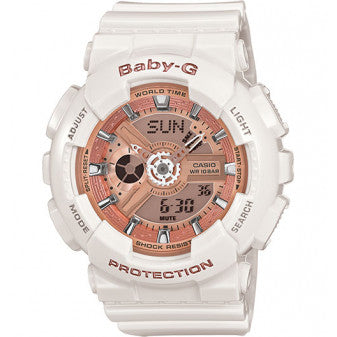 Casio Baby-G Ladies White Watch