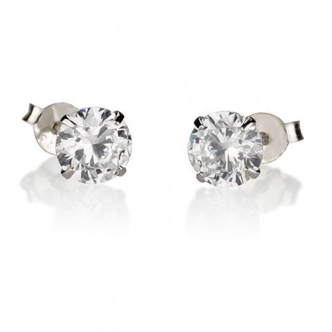 Georgie's Jewelry sterling silver stud earrings