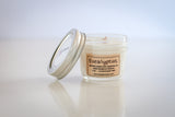 soy candle eucalyptus essential oil and wood wick 4oz jar