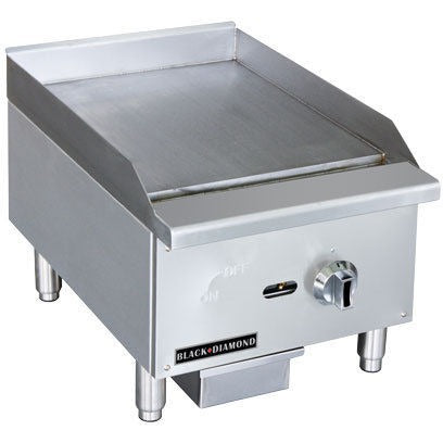 Commercial Kitchen Stainless Steel Gas Griddle 16