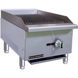 Commercial Kitchen Stainless Steel Char-Broiler 16