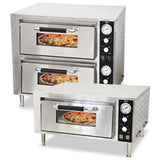 Commercial Kitchen Countertop Single Deck Quartz Pizza Oven - Commercial Kitchen USA