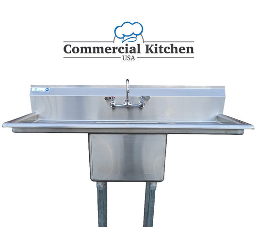 Stainless Steel 1 Compartment Sink 54