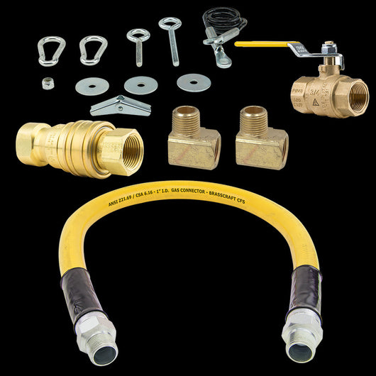 BrassCraft CFS Gas Connector Kit for Pickup - Commercial Kitchen USA