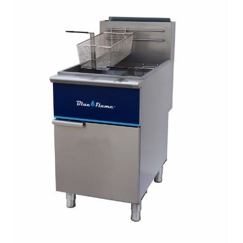 Commercial Kitchen 90 Lb Gas Deep Fryer Natural Gas - Commercial Kitchen USA