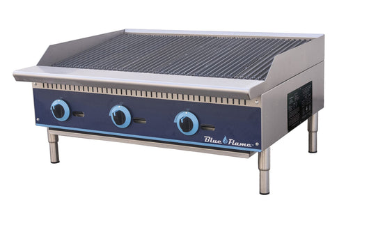 Blue Flame Commercial Kitchen Countertop Gas Char-Broiler 36