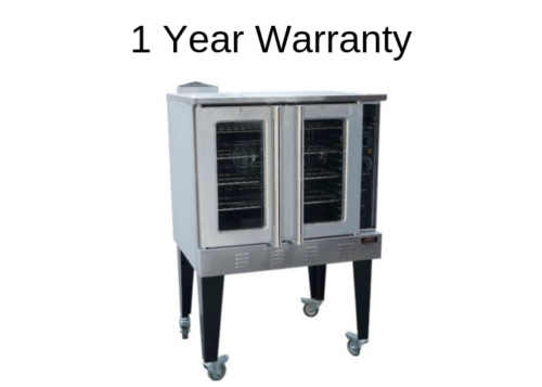 Copper Beech CBCO-G Gas Convection Oven w Casters Free Shipping 1 Year Warranty - Commercial Kitchen USA