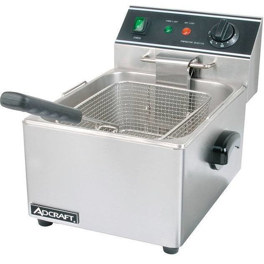 Commercial Kitchen Countertop Single Tank Deep Fryer 6L - Commercial Kitchen USA