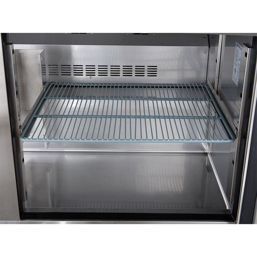 Dukers DSP Cu Ft Door Commercial Food Prep Table - Commercial prep table refrigerator