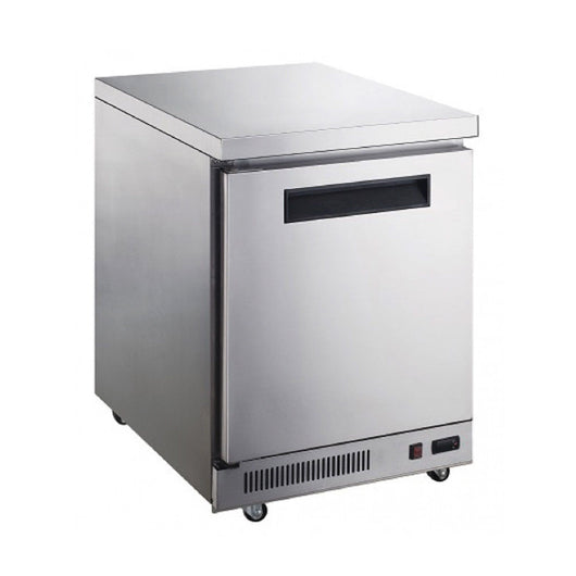 Dukers DUC29R 7 cu. ft. Single Door Undercounter Refrigerator in Stainless Steel - Commercial Kitchen USA