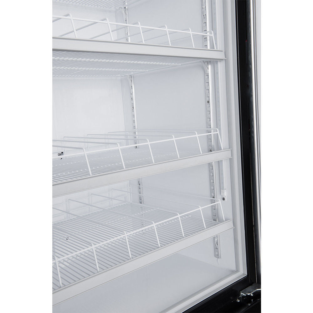 Dukers Lg 430 15 1 Cu Ft Commercial Single Swing Door Glass Merchand Commercial Kitchen Usa