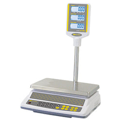 SkyFood-CK-P30Plus | 30 lb Price Computing Scale - Pole Display UL - Easy Weigh for Pickup - Commercial Kitchen USA