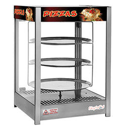 Skyfood- Pizza Display Case - Triple Tray 18 -  PD3TS18 for Pickup - Commercial Kitchen USA