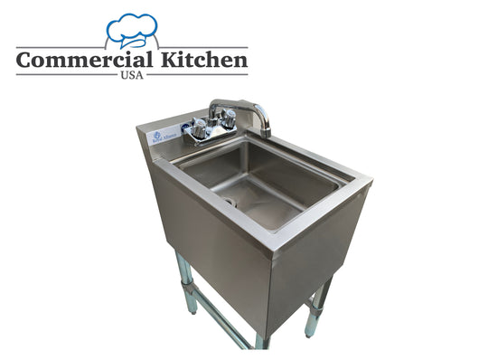 Royal Alliance 1 Compartment Underbar Sink 14