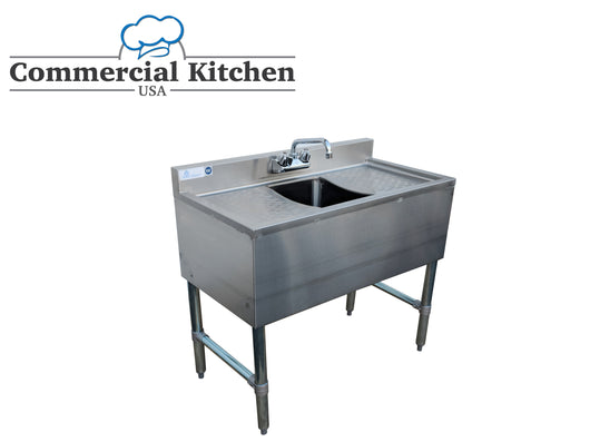 Royal Alliance NSF Certified Bar Sink, 1 Compartment 36